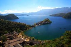 Lago Lugu Imagem de Stock Royalty Free
