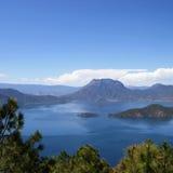 Lago Lugu Immagini Stock