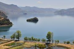 Lago Lugu Imagen de archivo