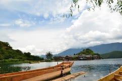 Lago Lugu Immagine Stock Libera da Diritti