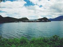 Lago Lugu Foto de archivo
