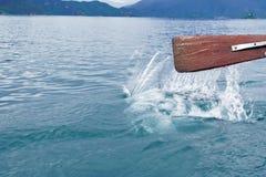 Lago Lugu de China imagem de stock