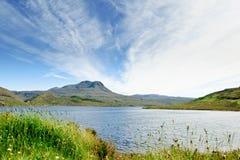 Lago Luichart, Escocia Foto de archivo libre de regalías