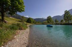 Lago Lungern su estate, Svizzera Immagine Stock Libera da Diritti