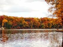 Lago lungo Fotografia Stock