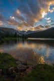 Lago lungo Fotografia Stock Libera da Diritti