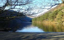 Lago mágico Foto de archivo libre de regalías