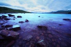 Lago mágico Tekapo Foto de Stock Royalty Free