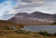 Lago más Escocia Fotografía de archivo