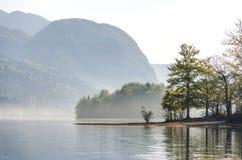 Lago místico Fotos de archivo