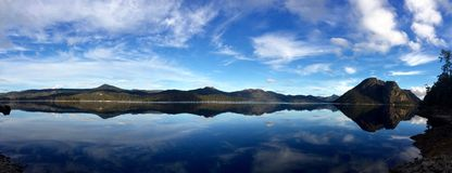 Lago Macintosh, Tasmânia, Austrália Fotografia de Stock Royalty Free