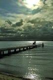 Lago Macquarie Fotografia Stock Libera da Diritti