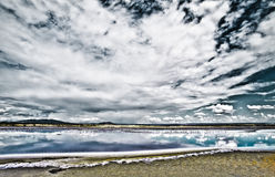 Lago Magadi, Kenia Imagenes de archivo