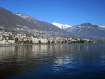 Lago Maggiore Royalty Free Stock Images