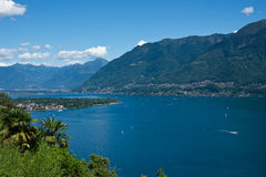 Lago Maggiore Royalty Free Stock Photo