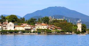 Lago Maggiore Stockfoto