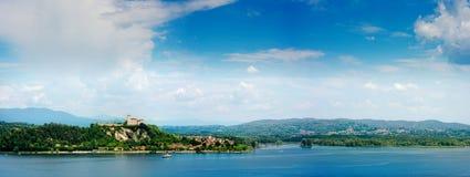 Lago Maggiore Стоковое Изображение RF