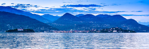 Lago Maggiore Imágenes de archivo libres de regalías