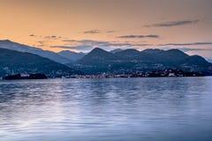 Lago Maggiore Fotografía de archivo libre de regalías