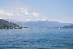 Lago Maggiore Foto de archivo