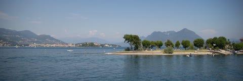 Lago Maggiore Fotografia Royalty Free