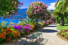 Free Lago Maggiore - Beautiful Isola Madre,North Italy. Royalty Free Stock Image - 134249326