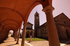 LAGO MAGGIORE DE EUROPA ITÁLIA Foto de Stock