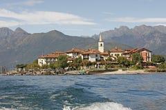 Lago Maggiore, dei Pescatori van Italië - Isola- Royalty-vrije Stock Foto's