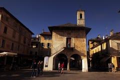 LAGO MAGGIORE DI EUROPA ITALIA Fotografie Stock