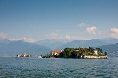 Lago Maggiore - ilhas de Borromean Fotos de Stock Royalty Free