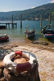 Lago Maggiore - ilhas de Borromean Fotos de Stock
