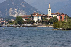 Lago Maggiore - ilhas de Borromean Imagens de Stock Royalty Free