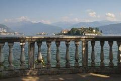 Lago Maggiore - ilhas de Borromean Foto de Stock
