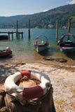 Lago Maggiore - islas de Borromean Fotos de archivo