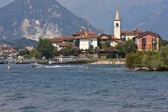 Lago Maggiore - islas de Borromean Imágenes de archivo libres de regalías
