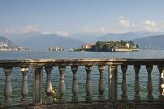 Lago Maggiore - islas de Borromean Imagen de archivo libre de regalías