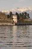 Lago Maggiore, Isola Bella hanging gardens in Winter Stock Image