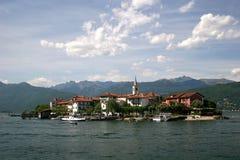 Lago Maggiore and Isola Superiore Stock Photography
