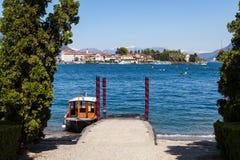 Lago Maggiore - Itália Fotografia de Stock Royalty Free