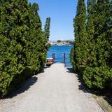 Lago Maggiore - Itália Imagem de Stock Royalty Free