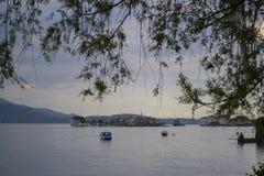 Lago Maggiore (Itália) fotografia de stock royalty free