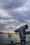 Lago Maggiore (Itália) imagem de stock