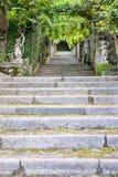 Lago Maggiore Itália Madre Stresa da ilha Fotos de Stock