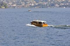 Lago Maggiore, Italië - Motorboten Stock Afbeeldingen