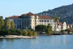 Lago Maggiore in Italia fotografie stock