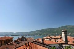 Lago Maggiore, Italie. Photo stock