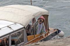 Lago Maggiore, Italie - touristes étrangers Photos stock