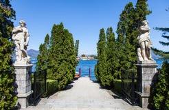 Lago Maggiore - Italien lizenzfreies stockfoto