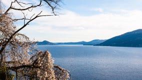 Lago Maggiore - Italien Arkivbild