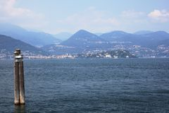 Lago maggiore, Italy Royalty Free Stock Photography